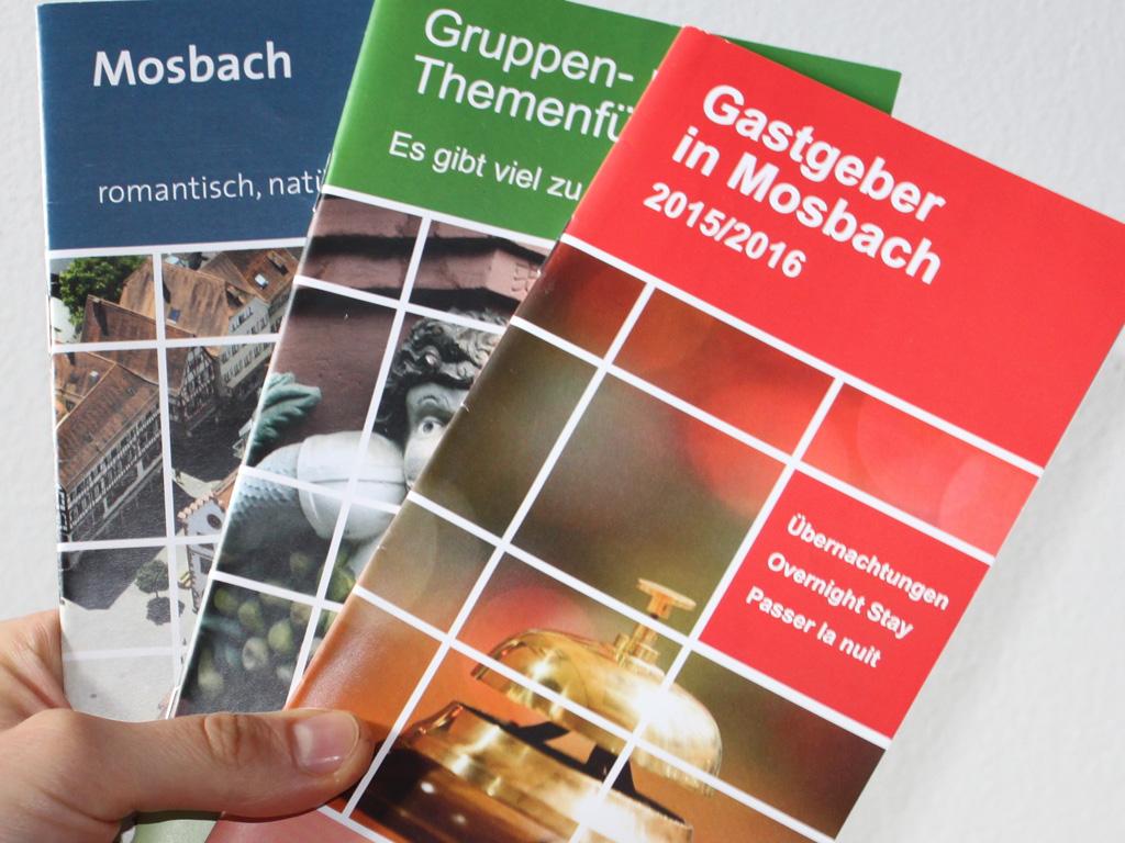 Prospekte für die Stadt Mosbach