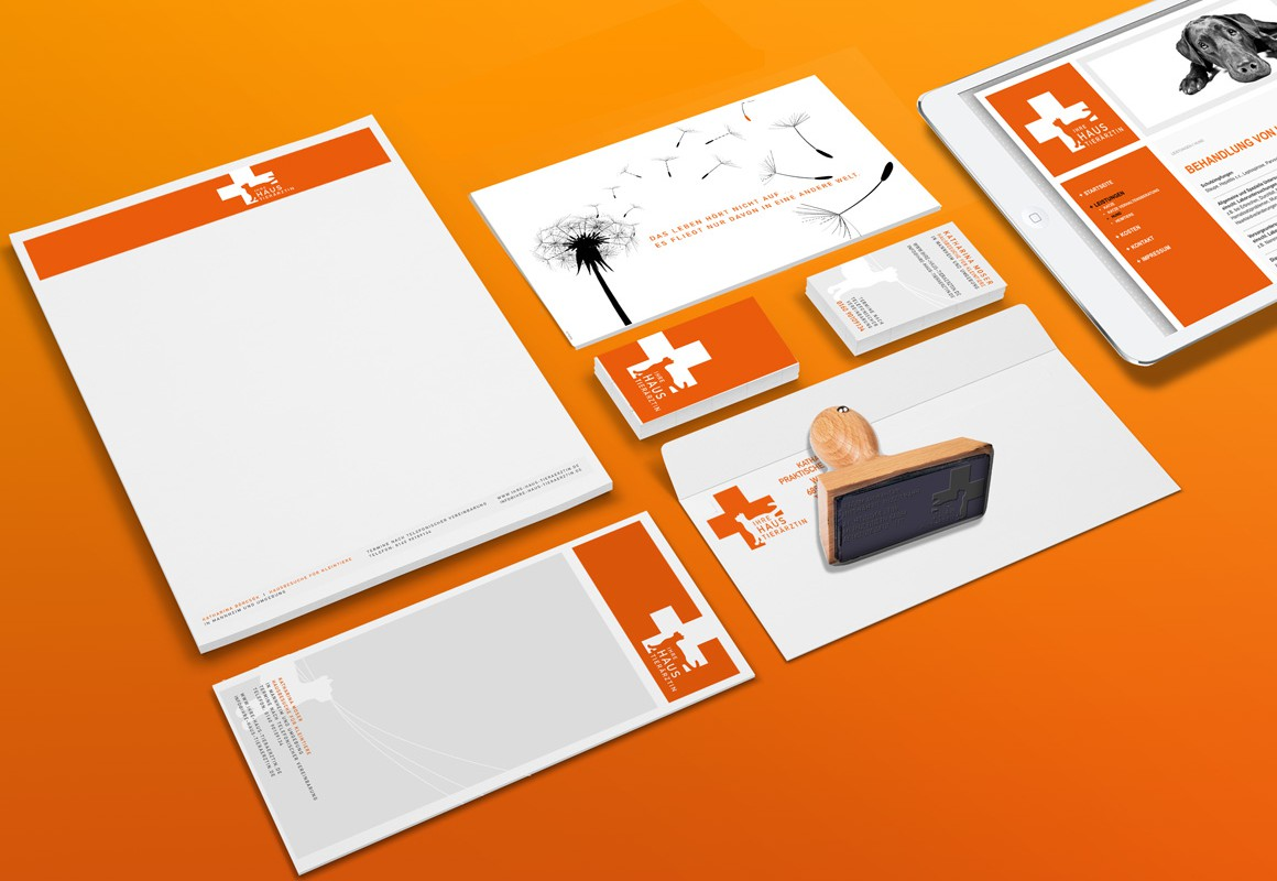 Corporate Design, Ihre Haustierärztin Mannheim